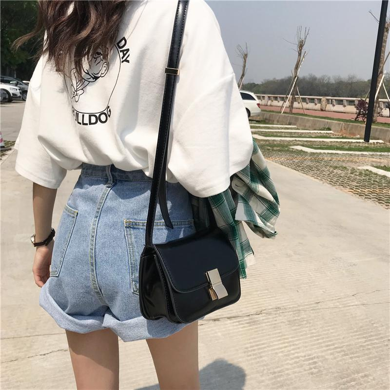 itGirl Shop VOLUME LIGHT BLUE DENIM JEAN SUMMER SHORTS
