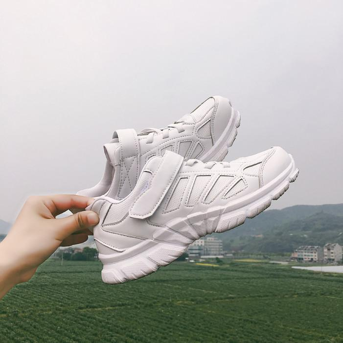 itGirl Shop WHITE AND PINK VERSION SPORTISH MESH RUN SNEAKERS