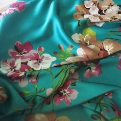 100*150cm,Soft Bridal Dress Material Crepe Satin Charmeuse Fabric Aquamarine Pink Burgundy