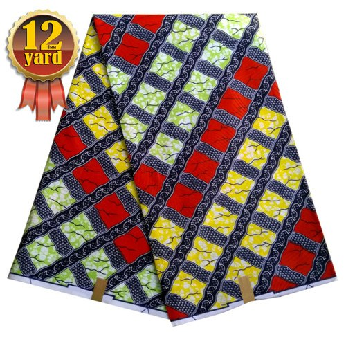 12yard/lot high heel shoes pattern african wax cloth fabric ankara wax prints patchwork design fabric high quality  L45-