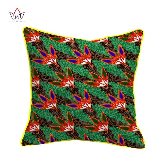Cojines Animal Print.1pc 20 18 Inches Decorative Pillow Cover African Tribes Printed Cushion Case Cojines Home Arts Wys10