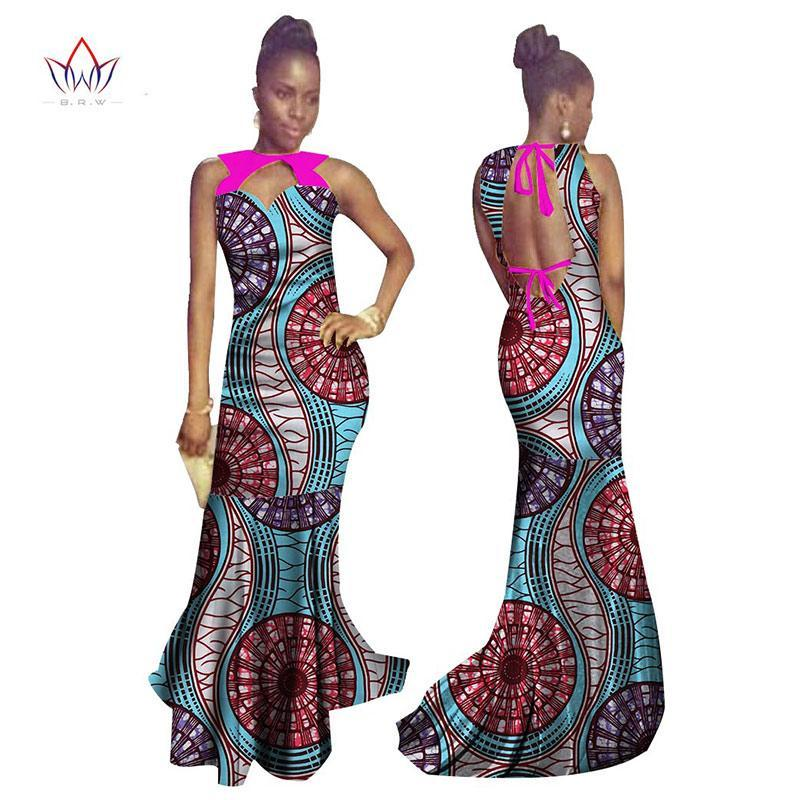 b2215b46a2f12 2017 brw summer bodycon cotton long dress african dashiki for women bazin  riche maxi dress femme vestidos pius size brw wy512 1