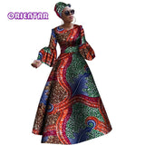 2018 African dresses for women New African dashiki rche dress for women Africa women long sleeves party dress plus size WY2868