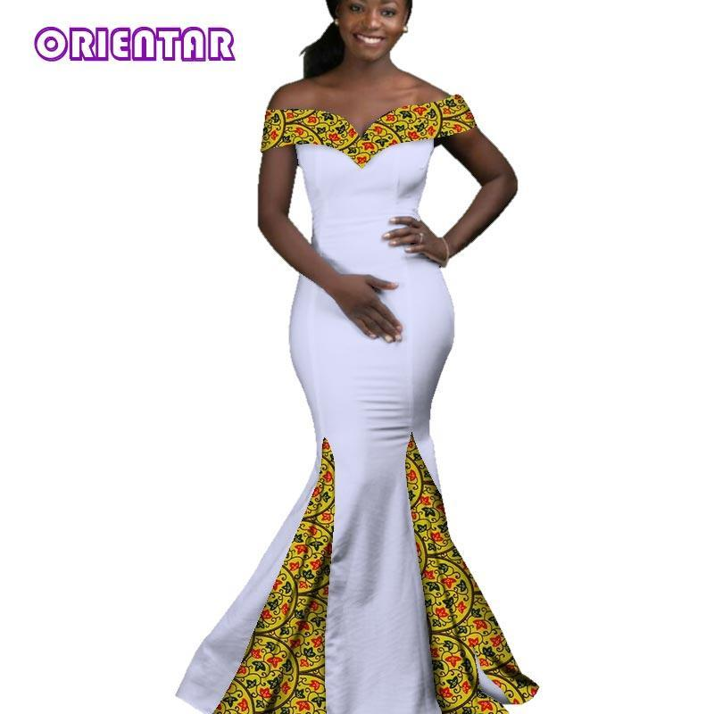 949c84276696 Hover to zoom · 2018 African dresses for women dashiki ankara style Batik  wax printing Party Dress lady grace Evening