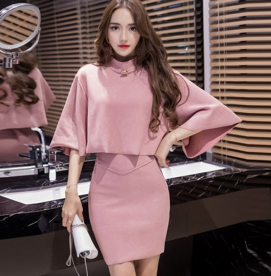 74bac0275ae Hover to zoom · 2018 Korean style new Autumn Spring fashion suede jacket  Skirt ...