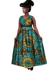 2018 New African Dresses Women Bazin Riche Wax Print Plus SizeTraditional African  Clothing Dashiki Sexy Africa ... 033568f0fac5