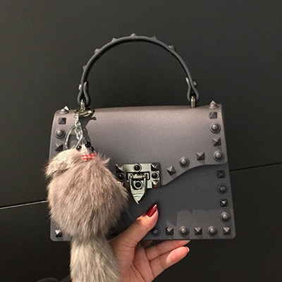 e2e4602496a9 ... 2018 New Women Messenger Bags Luxury Handbags Women Bags Designer Jelly Bag  Fashion Shoulder Bag Females