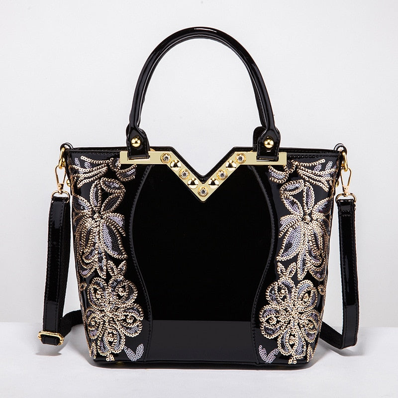 ce55720e1557 ... Brand Designer Handbags Large Capacity Women Sequined. Hover to zoom