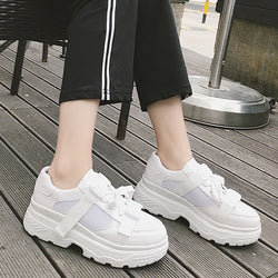 2018 Spring and Autumn New Korean Casual shoes Fashion Street Tide shoes Student Comfortable shoes Harajuku style size 35-39