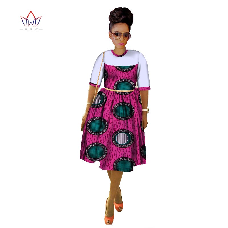 f4b32d52cc8bf 2018 Summer African Dresses for Women Dashiki Sexy Women African Clothing  Casual Plus Size African Traditional Dresses WY486