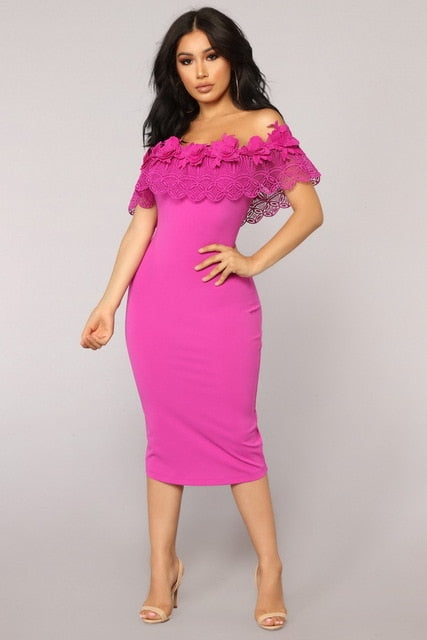 2fb9d616 ... Bodycon Dress Sexy Ruffles Strapless African Women Celebrity Party  Dresses. Hover to zoom