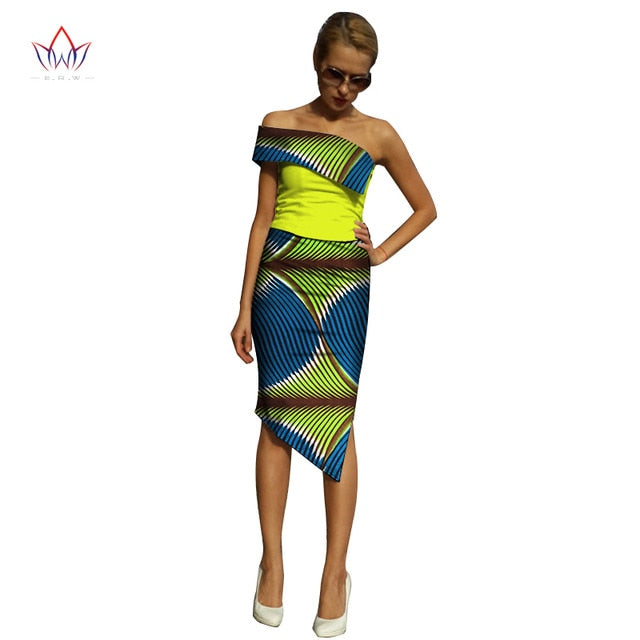 ... 2018 Summer Plus Size 6xl african dresses for women strapless Dashiki  Women african clothing traditional bazin ... eb3e5248f4ff