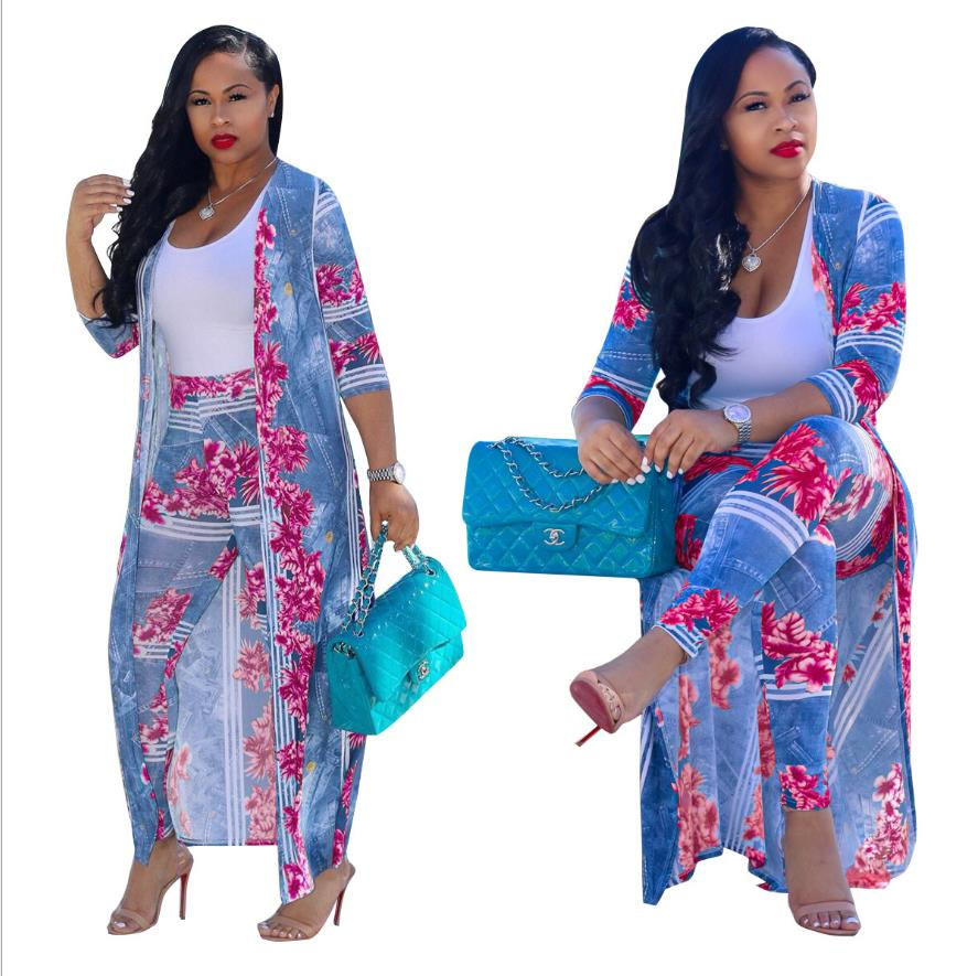 a8ba6bb6152 ... 2018 Summer Traditional African Clothing 2 Piece Set Women Africaine  Print Dashiki Dress African Clothes ...