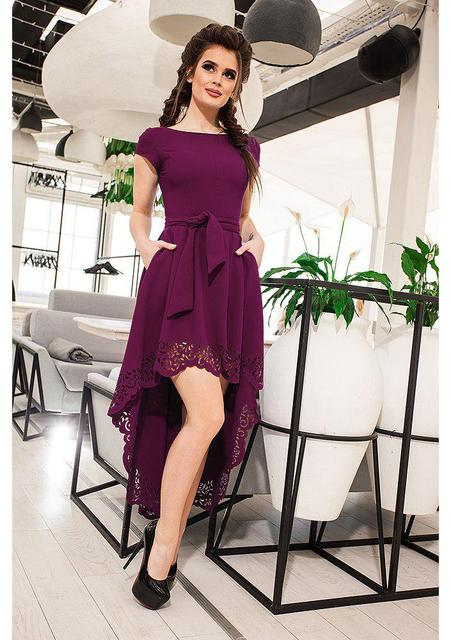 best prices closer at detailing 2018 Summer Women Short Dress Casual Short Sleeve Hollow Out ...