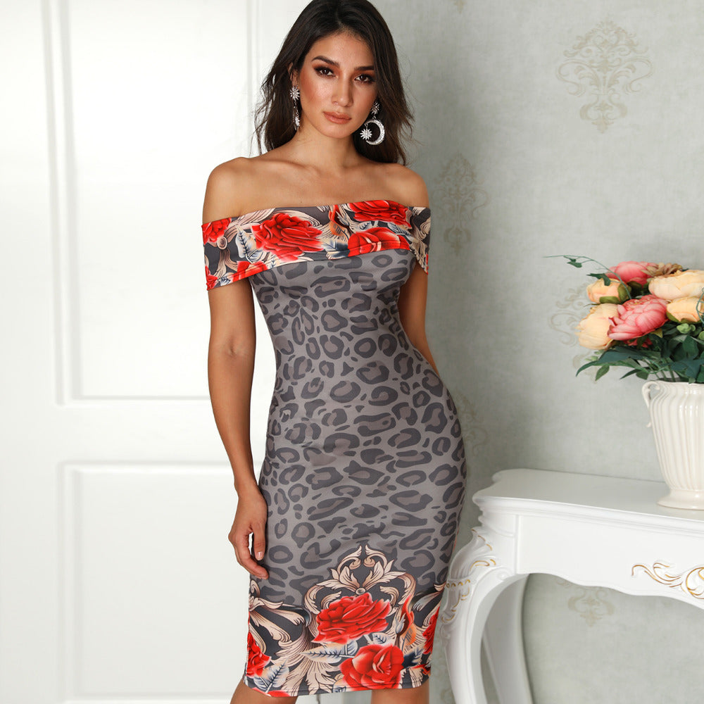 c5ffa5f288 Hover to zoom · 2018 Women Summer Fashion Elegant Casual Party Dress ...