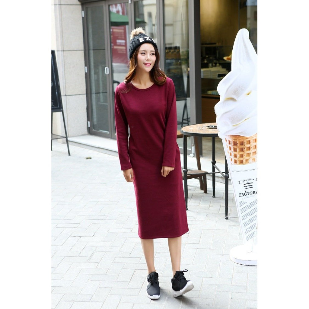 Long Winter Dresses for Girls
