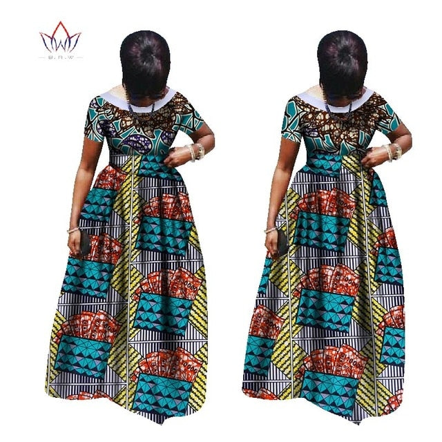 2018 Maxi Dress Elegant For Wedding None Dashiki Short African Dresses For Women In African Clothing Party Dress 4xl Other Wy995