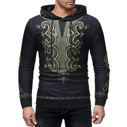 2018 new arrival fashion style african men big size sweatshirts M-3XL
