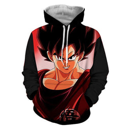 2018 new fashion Cool sweatshirt Hoodies Men women 3D print DRAGON BALL Z GT SON GOKU Loose hot Style Streetwear sleeve clothing