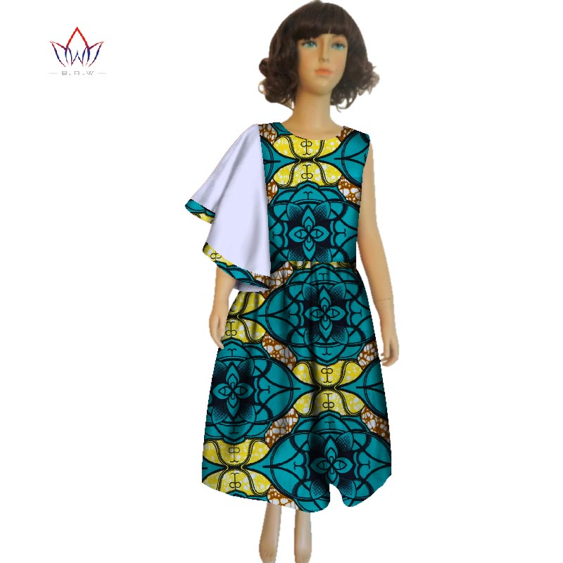 2018 Summer African Clothes For Girls Dashiki Traditional Cotton