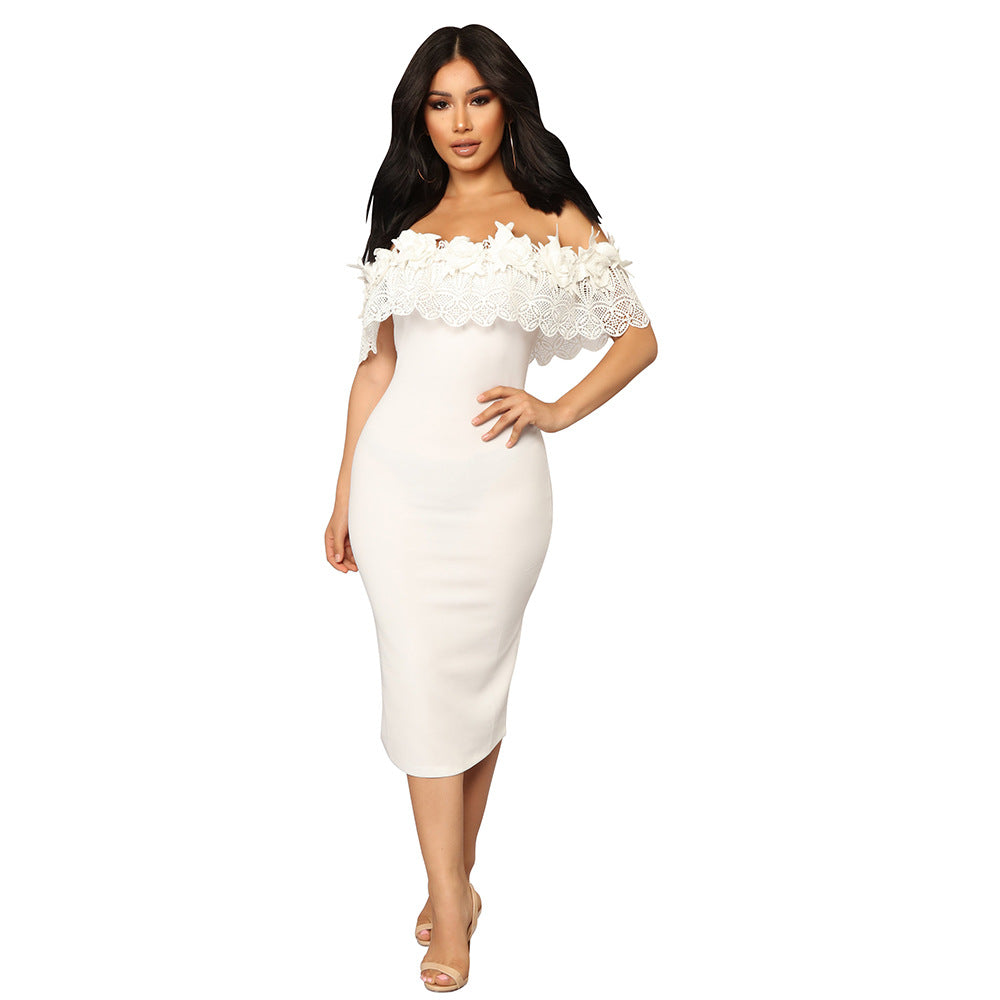factory outlets world-wide selection of unbeatable price 2018 summer sexy fashion women knee-length dress