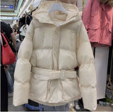 2019 Adjustable Waist Time-limited Direct Selling Pockets Women's Winter Jacket Fashion Bread Coat Woman