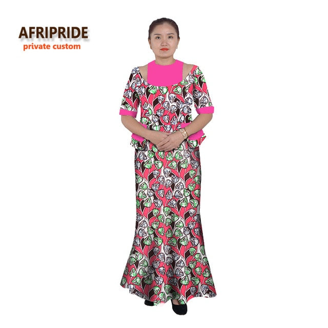 de311266bf0 Hover to zoom · 2019 Africa dresses for women classic elegant style african  cotton clothes plus size ankara print hot