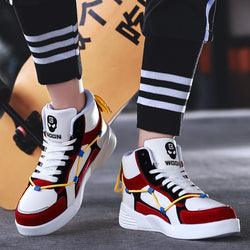 2019 Men and Women High-top Basketball Shoes Fashionable Lightweight Outdoor Sports Jordan Sneakers Anti-skid Breathable