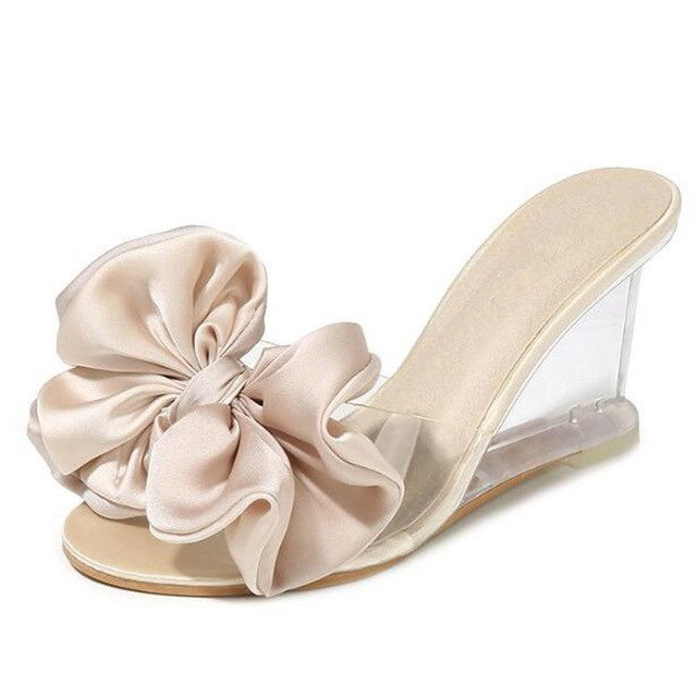 428690c24b2f ... Fashion Sandals Slippers Wild Transparent Women Shoes. Hover to zoom
