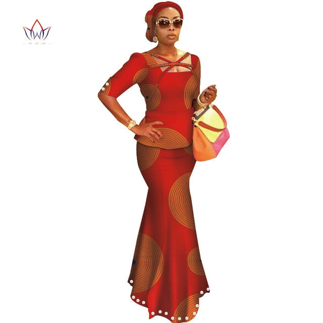 147f1613f11 ... 2019 SPring Skirt Set African Designed Traditional Print Clothing Plus  Size Skirt Set women s clothing african ...