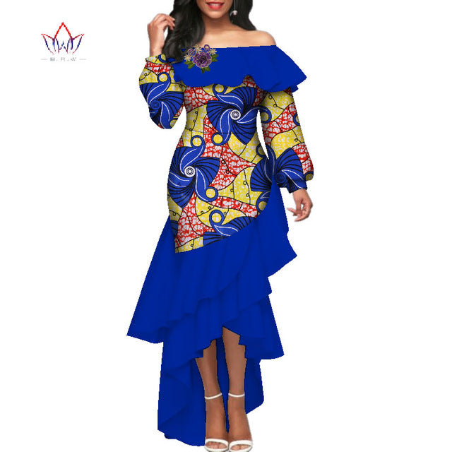 2019 summer african dress for women plus size Dashiki african long ...