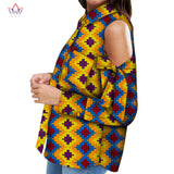 2020 Spring African Shirts For Women Dashikis 6xl Africa Clothing Women Traditional African Clothing Cotton Top Plus Size WY6753