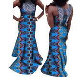 2020 Summer Mermaid Dresses New Style Off Shoulder African Dresses for Women Vestidos Sexy Party Womens Clothing WY7451