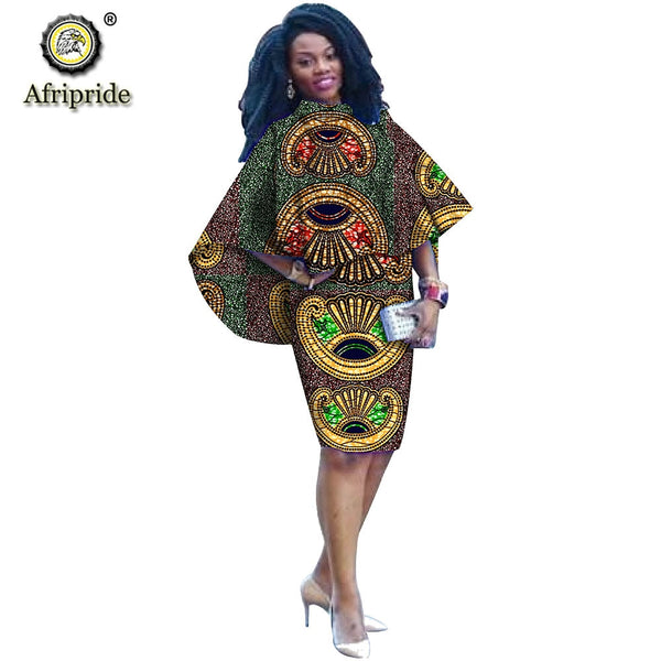 2020 Women`s 2 Piece Set African Print Coats Jacket+Dashiki Skrits Blazer Ankara Fabric Outwear Outfit Party AFRIPRIDE S1926030