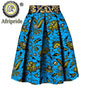 2020 women clothes AFRIPRIDE private custom skirt pure cotton ankara print dashiki bazin riche casual skirt for women S1827008