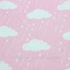 Image of 4pcs/lot 40cm*50cm Cartoon Clouds Raindrops Cotton Fabric for Home Textile Bedding Quilting Star wave sewing Patchwork fabric