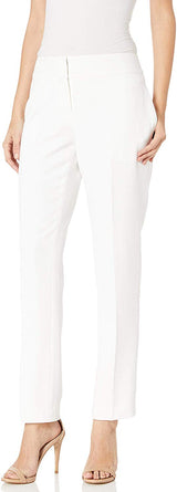 Le Suit Women's 1 Button Notch Collar Slim Pant Suit