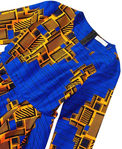 Amazon.com: Shenbolen Women African Print Dress Dashiki Traditional Clothing Party Dresses: Clothing
