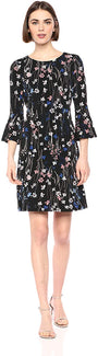 Tommy Hilfiger Women's Bell Sleeve Dress