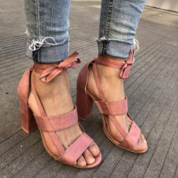 935a6a3da74 ... Woman 2018 Women s Sandals High Heel Gladiator Cross-tied Lace-. Click  to expand