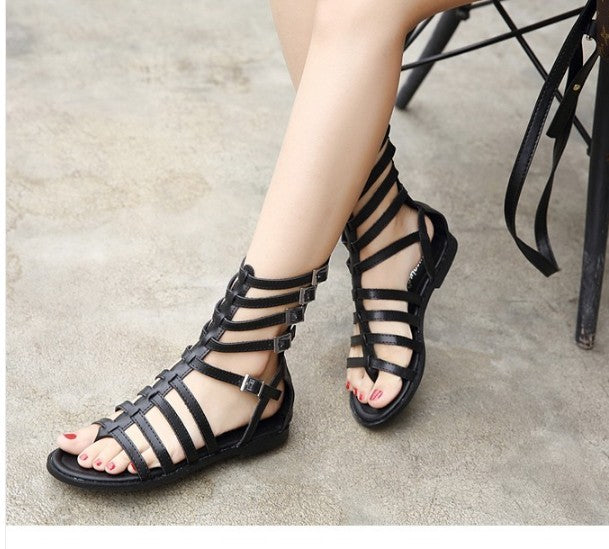 89c551a74 Hover to zoom. PrevNext. Image of AIYKAZYSDL Women Rome Shoes Gladiator  Sandals Flip Flops Thong ...