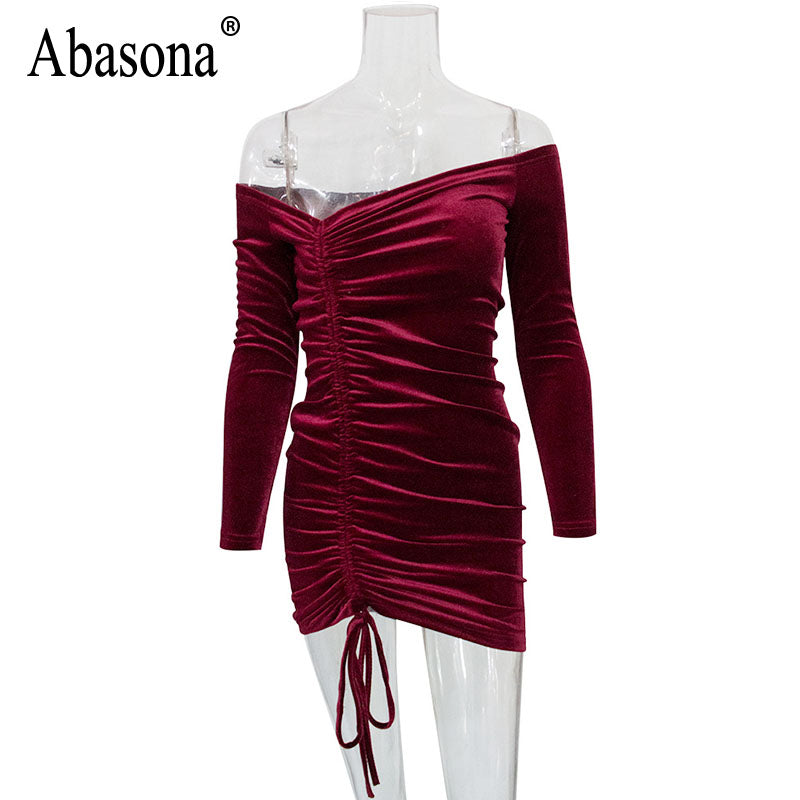 d0f1b7c5f618e ... Wrap Bodycon Bandage Irregular Dresses Autumn Party. Hover to zoom