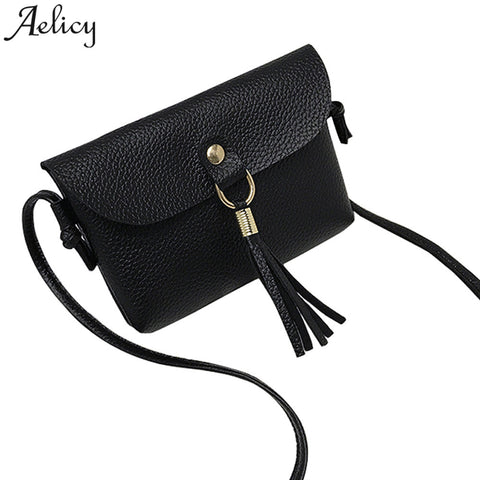 Aelicy women Fashion able Bag Vintage Handbag Small Messenger Tassel Shoulder Bags crossbody bag carteras mujer famosas Dropship