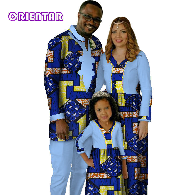 474fa57d1 Hover to zoom · Africa Family Matching Clothes Father Mother Daughter  African ...