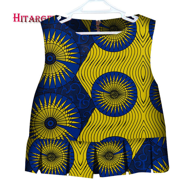 1bbc1a097f9 African Children Clothing Cute Kids Girl Short Shirt African Clothing  African Print Children Girl Shirt Bazin. Hover to zoom