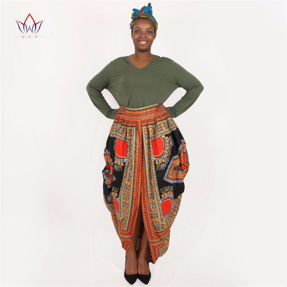 c3a5b6d1755 Hover to zoom · African Clothing Fashions Long African Skirt Dashiki  African Print Skirts Women Clothing Plus Size African Clothing