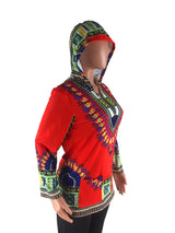 African Clothing New Arrival New Polyester 2017 Folk Style Totem Positioning Printing Hoodie African Women Dashiki Clothing