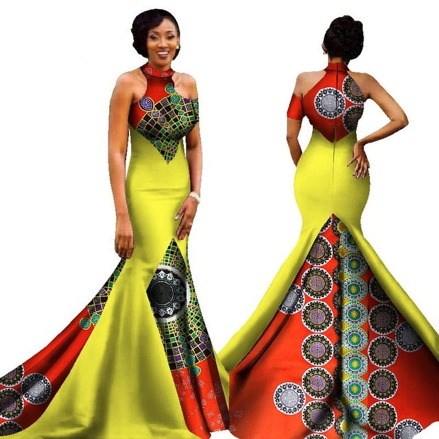 African Clothing Traditional African Dresses Time Limited Cotton