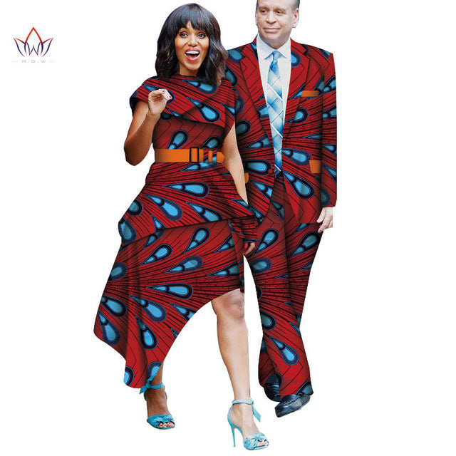 b421fe57 African Clothing for Lovers Couple Clothing Dashiki for woman femme ...