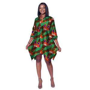 a0cc9000de049 African Clothing for Women African Print Wax Shirt for Women Dashiki Africa  Clothing Bazin Plus Size ...